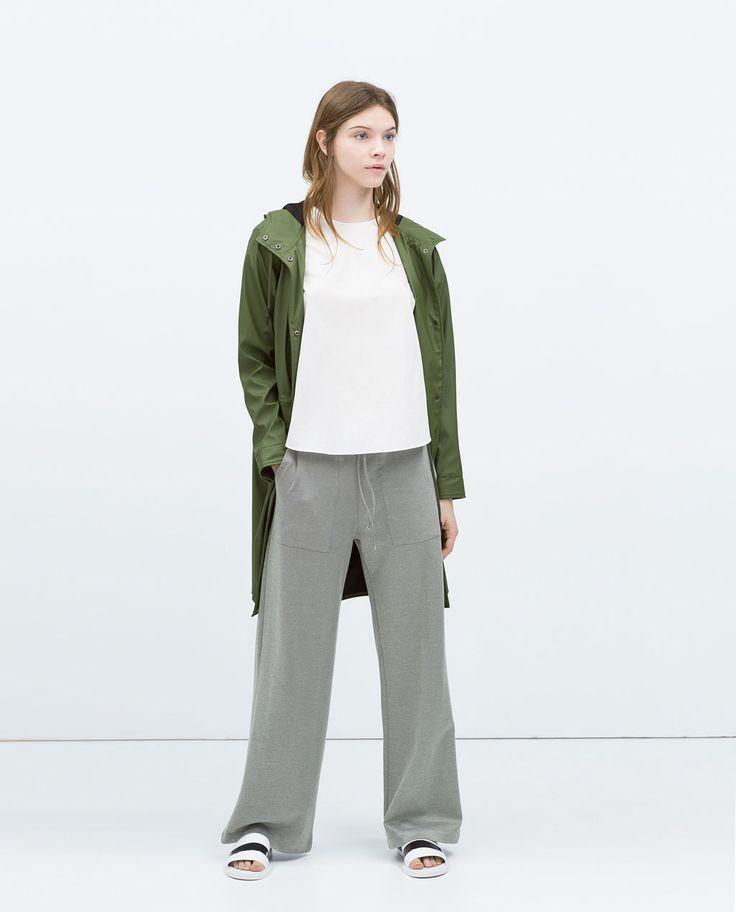 изображение 1 из ШИРОКИЕ БРЮКИ от Zara
