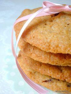Receta de galletas de canela, pasas y chocolate