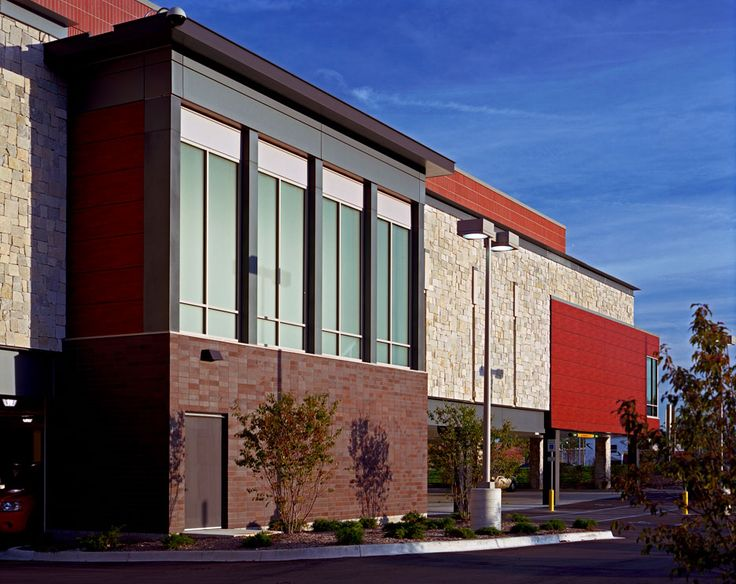 Target in bloomfield hills michigan architecture for Retail exterior design