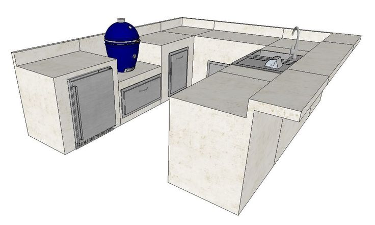 Diy Packages Build Your Own Fargo Outdoor Kitchen Kits Outdoor