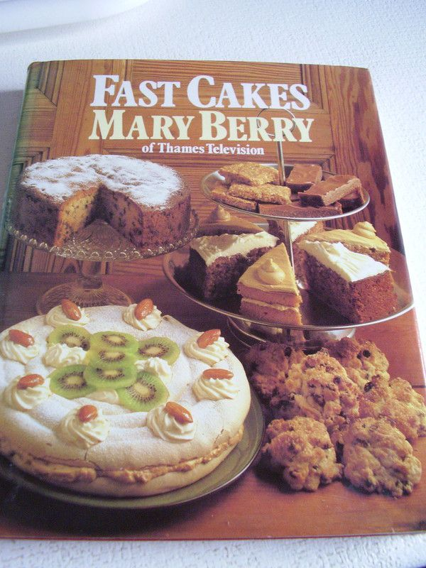 Mary berry recipe book cakes