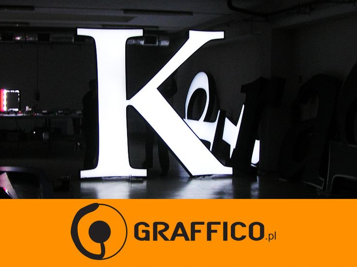 Signage manufacturer, illuminated signage, signs assembly, montaż produkcja reklam, producent reklam, Graffico, pylon signage, 3D  signs, channel letters, illuminated letters, illuminated pylons,  litery 3D, litery aluminiowe, litery blokowe, reklama świetlna, producent reklam świetlnych, producent reklam Toruń, litery led, neon, podświetlane logo, illuminated lettering, illuminated logo, fascia signs, letter box, sign letters, metal letters, metalowe litery,