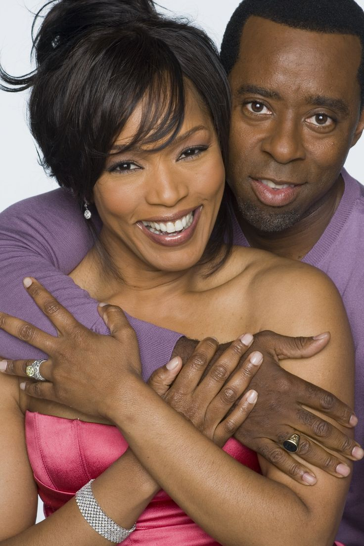 Angela Basset and Courtney Vance Husband & Wife Beautiful Couple