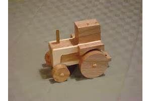 Brinquedo De Madeira Trator De Padrões - Padrões De Criança