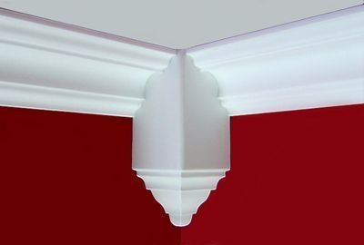 Find easy-to-install crown molding inside-corner blocks to complete your commercial or home improvement project online at Decorative Ceiling Tiles.