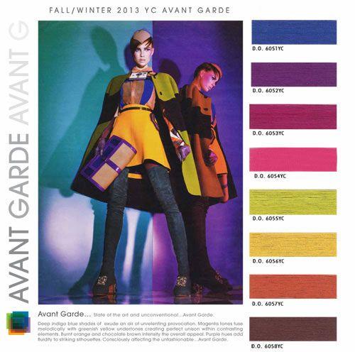 Fall / Winter 2013-14. Women's Contemporary Color Preview