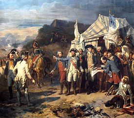 Surrender of Lord Cornwallis - Siege of Yorktown - Wikipedia, the free encyclopedia