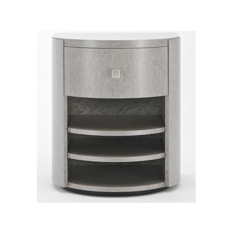 Барабан Дуга Тумбочка | Сделанный на заказ Мебель | Черный и ключ | Великобритания
