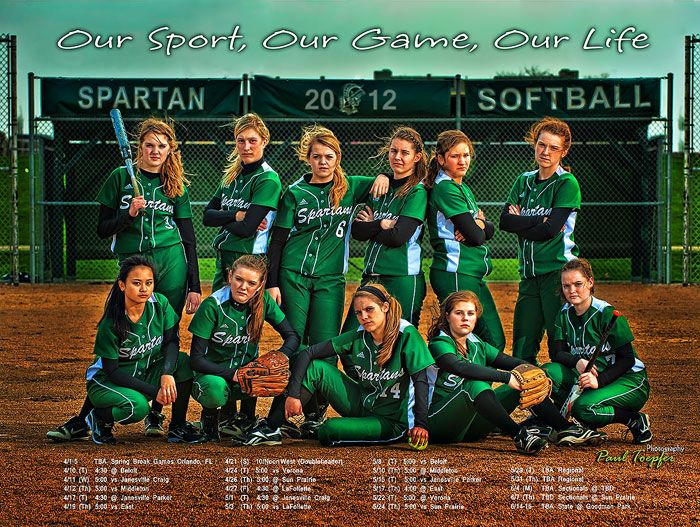 Professional Sports, Club or Group Posters designed by Paul Toepfer Photography - Paul Toepfer Photography