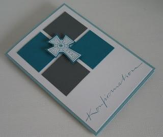 stampin with beemybear: Konfirmationskarten