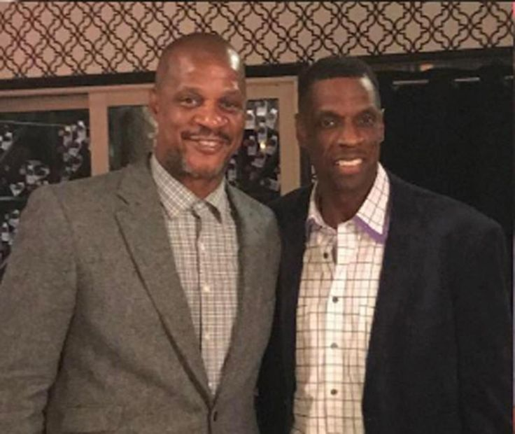 Darryl Strawberry and Dwight Gooden repair their friendship on the eve of Mets Opening Day. April 03, 2017.