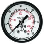 PEM-LF Series 1.5 in. Lead-Free Brass Pressure Gauge with 1/8 in. NPT CBM and 0-60 psi/kPa
