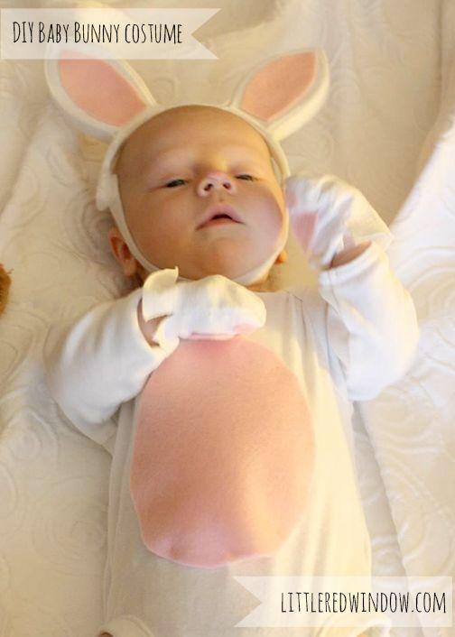 Adorable DIY Baby Bunny CostumeTutorial