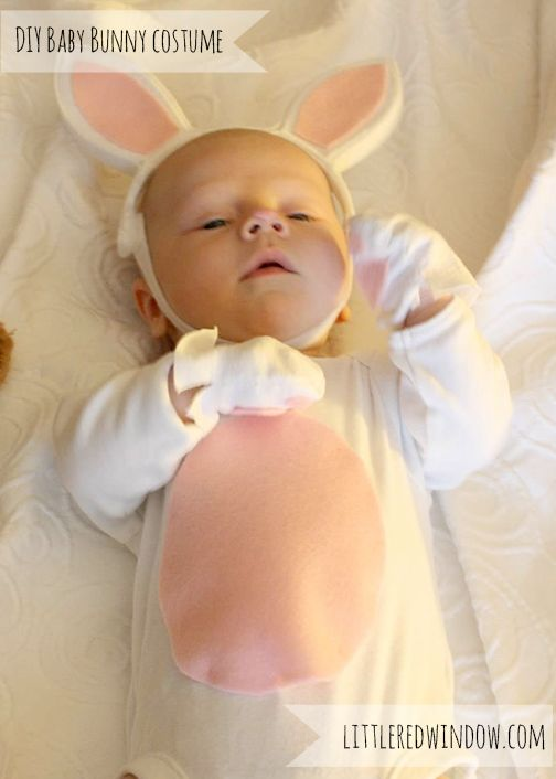 Adorable DIY Baby Bunny CostumeTutorial