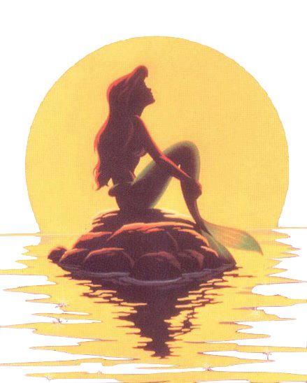 If I had to pick a favorite Disney movie, it would definitely be Little Mermaid. I wanted to be just like Ariel when I was little--and I still do! ^_^