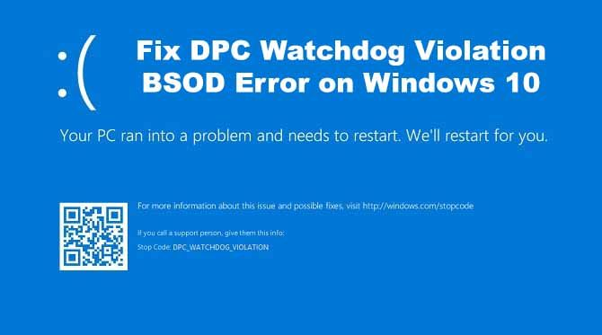 This post provides troubleshooting steps to fix BSOD DPC