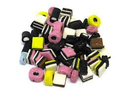 Licorice All Sorts - my mom's favourite