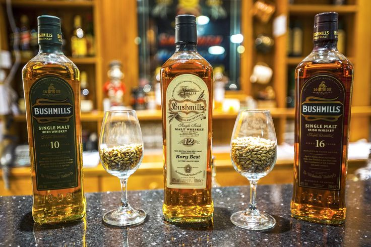 WHISKEY in Ireland:  A quality bottle of whiskey is a classic souvenir to bring home from Ireland.  A recommended place to pick up the Irish whiskey is the Bushmills Distillery in Northern Ireland, where you can actually see and smell the whiskey being made.
