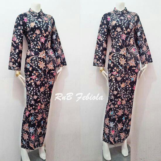 RnB Febiola Bahan Katun Allsize Harga 135rb  #batikbagoessolo #rokdanblousebatik #seragambatikkantor