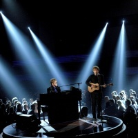 Elton John And Ed Sheeran | GRAMMY.comGrammy Awards, Grammy Performing, Grammy'S Com Lov, Avril Lavigne, 55Th Grammy, Safe Kind, Elton John, Sir Elton, Fine Tunes