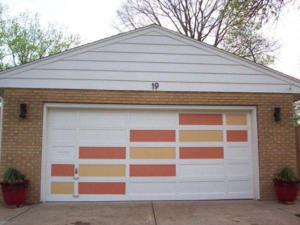 14 Best Funky Mid Century Amp Modern Garage Doors Images On