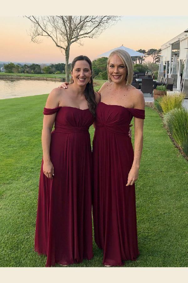 Plus Size Burgundy Bridesmaid Dresses | Customized Vogue Burgundy Bridesmaid Dress Bridesmaid Dress Plus