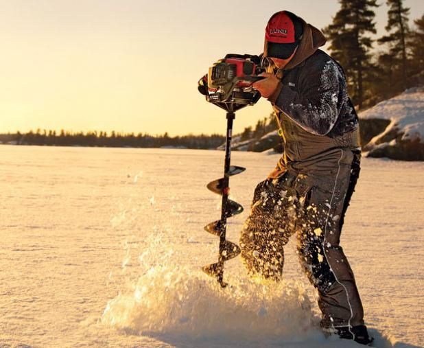Best 25 ice fishing auger ideas on pinterest ice for Winter fishing gear