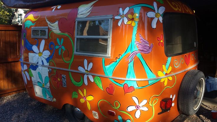 Gypsy. Hand painted by Dawna of Whimsythings!