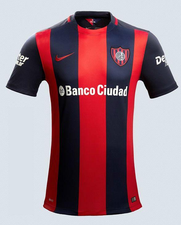 2016 SALE San Lorenzo home jersey, argentine soccer superliga