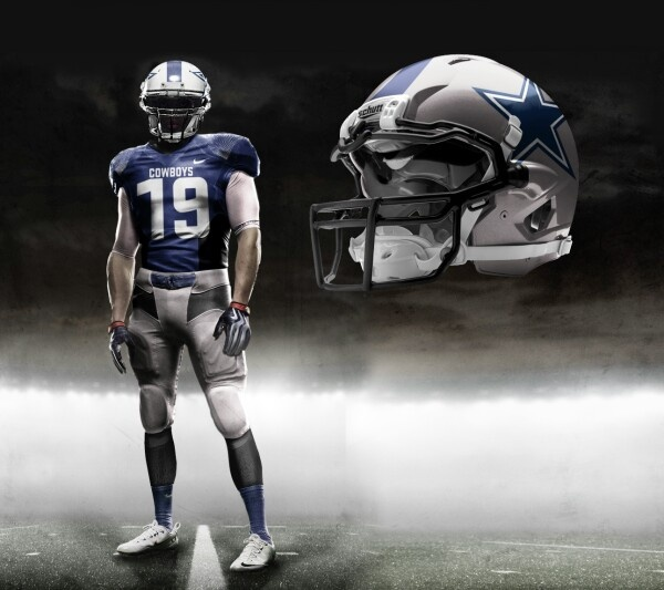 Rumored new NFL uniforms