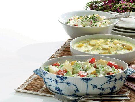 Der er intet som den gode klassiske kolde kartoffelsalat som tilbehør til sommerens grillretter og buffetter.