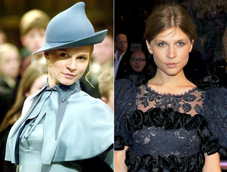 actress made a splash as the beautiful Fleur Delacour in 'Harry Potter ...