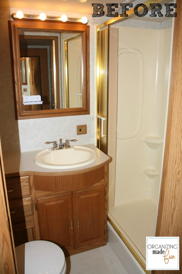 Hometalk | RV Motorhome Bathroom Makeover