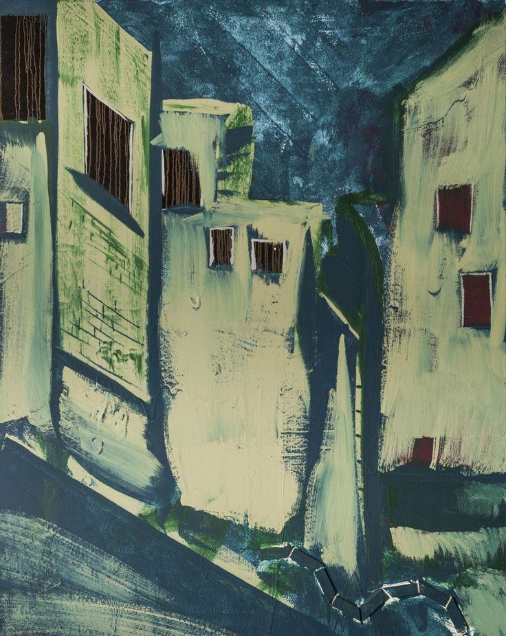 City 2 Acrylic on Canvas
