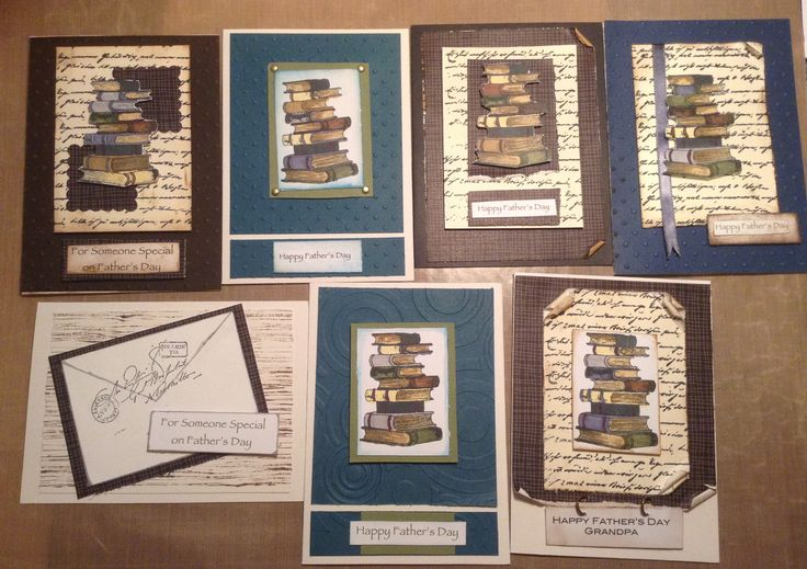 getting some cards ready for Father's Day. Using Kaszazz stamps...