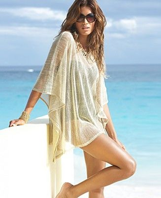Sand toned cover up for the #beach