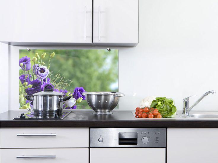 Die besten 25+ Küche Rückwände aus Glas Ideen auf Pinterest ...