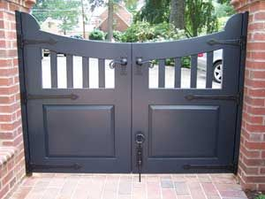Strap Hinges Wooden Driveway Gates And Driveway Gate On