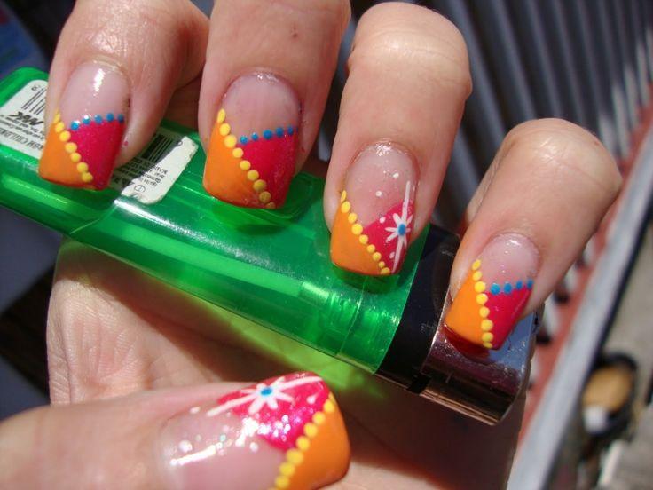 Crazy Acrylic Nail Designs