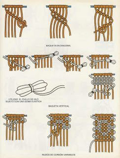 NooN beaded jewellery: Macrame tutorials