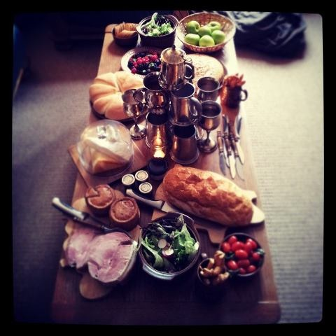 From my Hobbit Party: The Feast