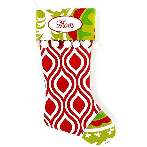 Handmade Christmas Stocking with Optional Personalization ...