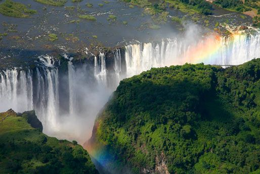 Place I Want To Go #237 - Victoria Falls, Zimbabwe