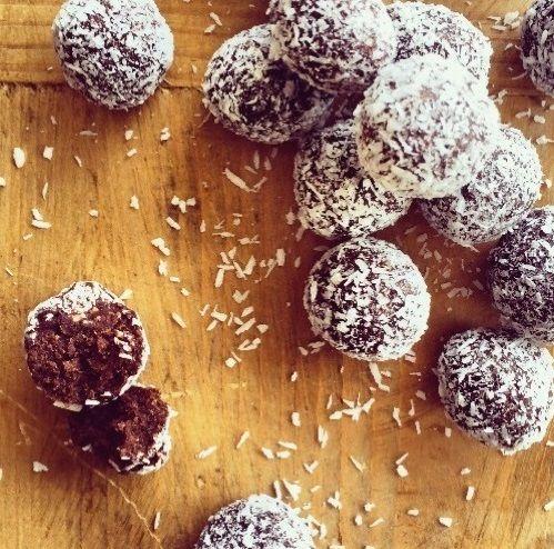 Recipes   Raw Cacao Bites   Louise Fulton Keats