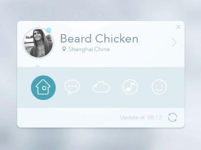 app card by Beard Chicken