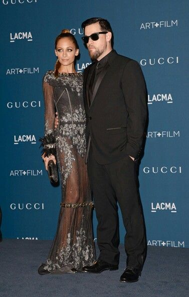 Nicole Richie & Husband Joel Madden look great together as they attend an Art+Film Awards Dinner! www.stylebistro.com