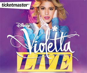 Ya puedes comprar tus entradas para los conciertos de #ViolettaLive en España con Booking Smiles y Ticketmaster ¡Un espectáculo para toda la familia! #ViolettaDisney #conciertos #solidaridad