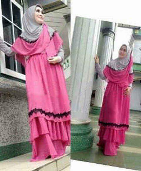 #BusanaMuslim Plus #Jilbab SHINTA BERGO