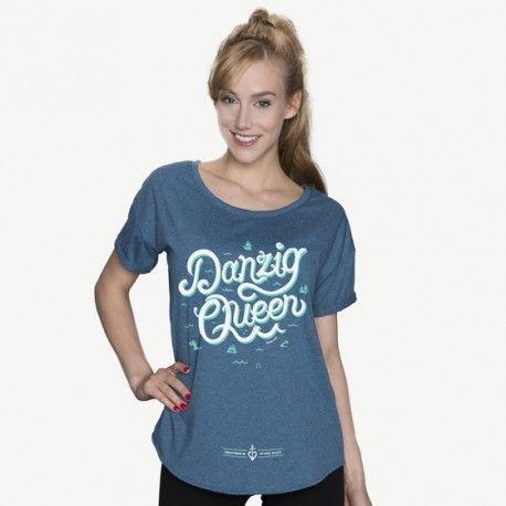 Danzig Queen - damski t-shirt CHRUM - polscy projektanci / polish fashion designers - ELSKA