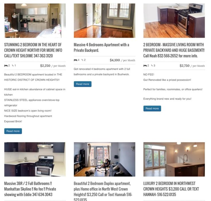 Think of Urban Pads as a more curated Craigslist with a focus on Brooklyn. These apartments are all listed by brokers who post directly to the site, which means you'll pay a fee. The upshot is that you can input what exactly you're looking for and a real human will get back to you with some options.